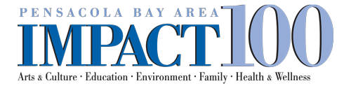 Graphic: Pensacola Bay Area Impact 100 logo