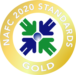 Graphic: NAFC Gold Standard logo